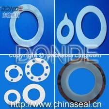 PTFE GASKETS/Teflon Gasket/Plastic Gasket/PTFE envelope gasket
