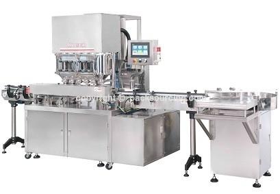 粉體 > 全自動罐裝粉末充填機  CM-P340-L6