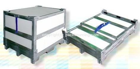 PP瓦楞板回收箱