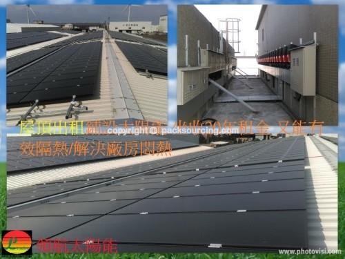 推動陽光廠房增加外銷競爭力 廠房屋頂太陽能 供電經濟效益高