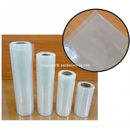 真空包裝袋 >>  真空壓紋袋(真空條紋袋)  /  真空平面袋