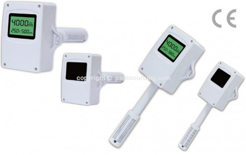 IC-200D/W 風管型/壁掛風管型 HVAC 二氧化碳/溫溼度傳送器