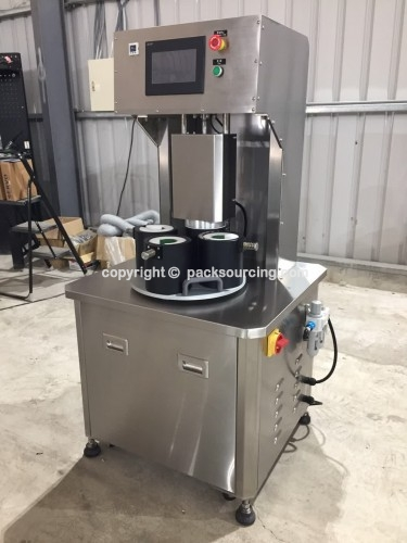 半自動真空鎖蓋機/Vacuum capping machine