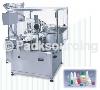 液體充填封蓋機系列 >> KDL-980 全自動液體充填內塞及封蓋機(眼藥水產品)