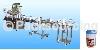 瓶罐充填封口機系列 / <FSL型> 自動填充封膜壓蓋貼標機生產線