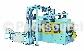 S-B93 自動立式罐胴滾壓縮頸反邊封罐機(噴霧罐專用)