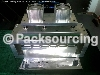 Pneumatic hole puncher for thermoforming vacuum packing machine